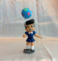 Little Dot Teeny Weeny Mini-maquette, 2003 convention exclusive blue dress variant