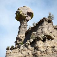 Tent Rocks spire in New Mexico