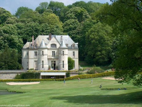 Golf Club house of Villarceaux, France