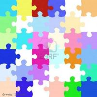 Jigsaw puzzle in a jigsaw puzzle