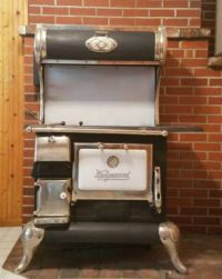 Mom's wood cookstove