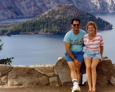 Salmon Jeff at Crater Lake