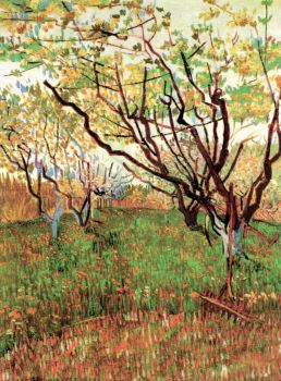 Orchard in Blossom, 1888, Vincent