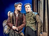 DANIEL RADCLIFFE & JOSHUA McGUIRE  ROSENCRANTZ & GUILDENSTERN ARE DEAD - OLD VIC, 2017