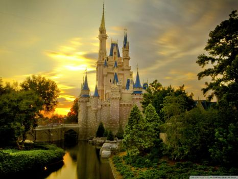 Cinderella's Castle - Smaller Version