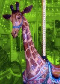 Giraffe Carousel #8