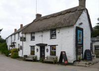 Pub in Crantock, Cornwall