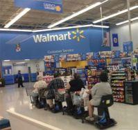 It happened at Walmart