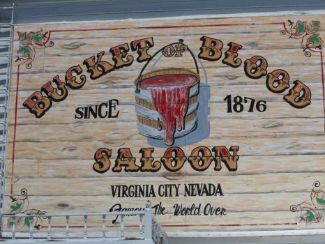 Virginia City sign