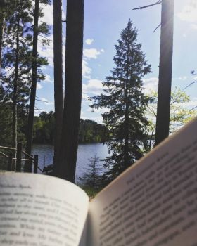 Good Book, View & Hammock
