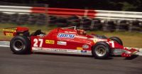 1981 ferrari 126 CK - Gilles Villeneuve