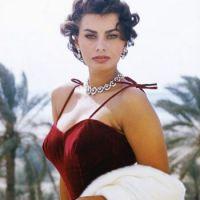 I love Sophia Loren.