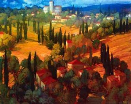 Tuscan Castle by Philip Craig