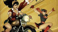 DC Bombshells Wonder Woman and Batwoman