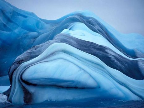 Iceberg on Lake Michigan - 2