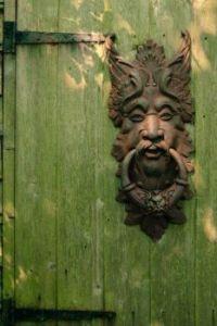 Satyr Door Knocker