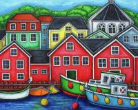 Colors of Lunenberg by Lisa Lorenz