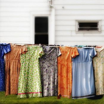 laundry from days gone by