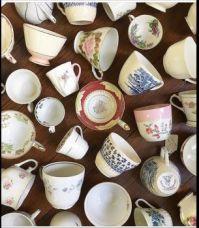 Yard sale teacups