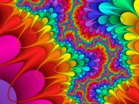 Colorful Psychedelic HD wallpaper