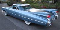 1959 Cadillac Flower Car blue