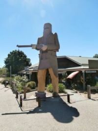 Ned Kelly Statue, Glenrowan, Victoria, Australia