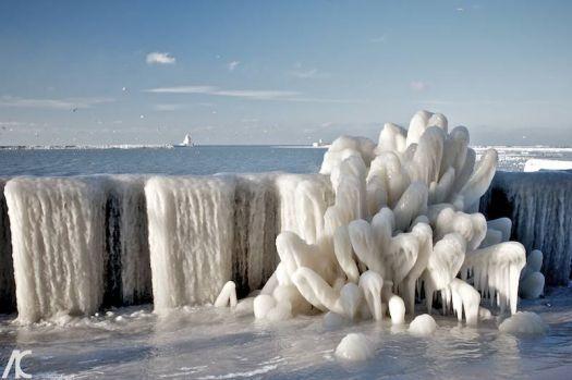 frozen seawater