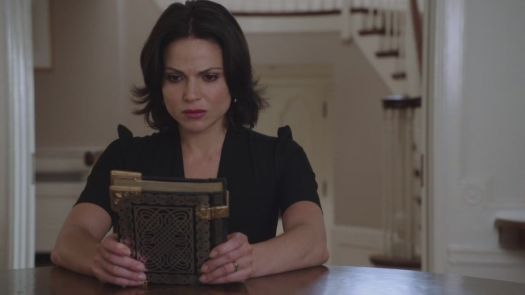 The fabulous Lana Parrilla as Regina in Once Upon a Time