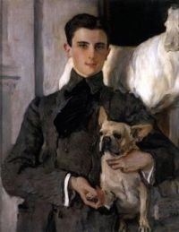 Valentin Serov (Russian, 1865–1911), Portrait of Prince Yusopov (1903)