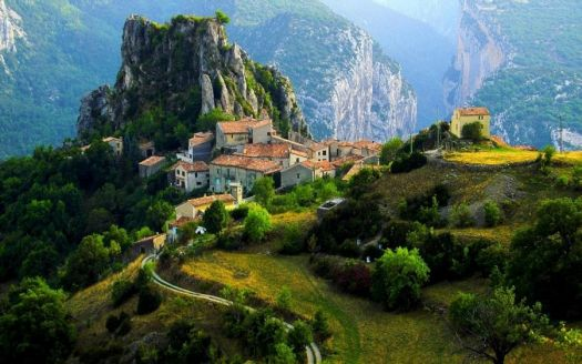 Mountain Village - France