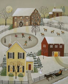 Mary Charles-Winter Fun