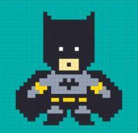 Batman 8bit Post it notes Bruck7