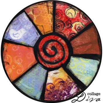 Wheel by Collage Diva