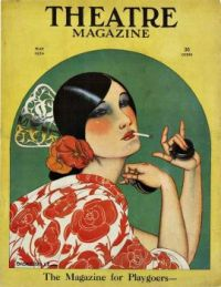 Art Deco Theatre Magazine Cover 1924