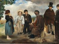 Edouard Manet ( French, 1832–1883), The Old Musician (1862)
