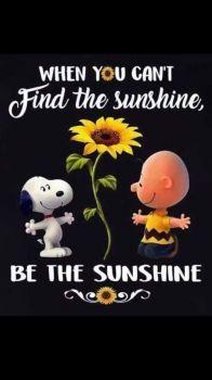 Be the sunshine - Large