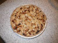 Sun dried apple pie