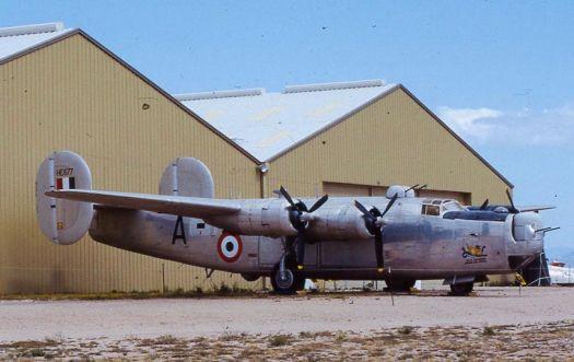 B-24J.    India roundels