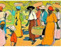 Going to Market, West Indies, 1912