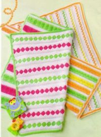 Summertime Bright Baby Afghans