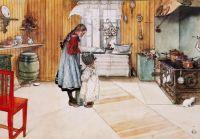 Carl Larsson 2 meisjes