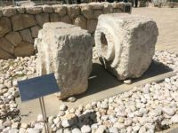 water pipes from the Israel Roman Aqueduct