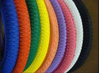 Colourful Bicycle Tyres