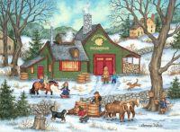 Winter Maple Sugaring