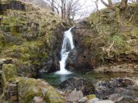 Waterfall near Dinas Emrys, Bedgellert, North Wales