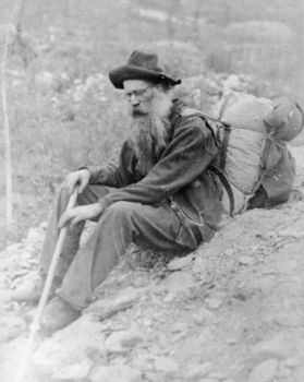 Solve Here We Have A Tired Old Prospector During The Klondike Gold