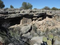 Pit House overlooking Montezuma Well