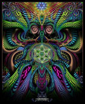 Fractal owl