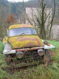 Old junk car