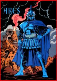 Ares by George Perez (DC Comics)